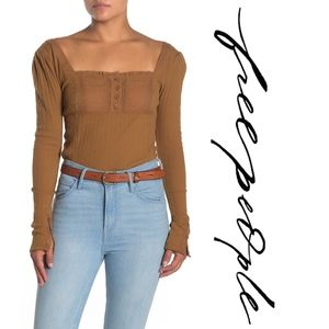 Free People Sugar Sugar Top